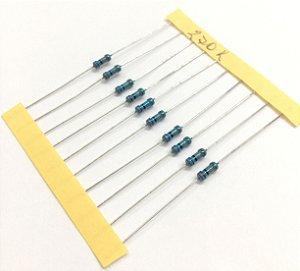 Resistor 1/4W 1% - 270K - 10 UNIDADES