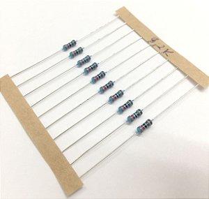 Resistor 1/4W 1% - 8,2K - 10 UNIDADES