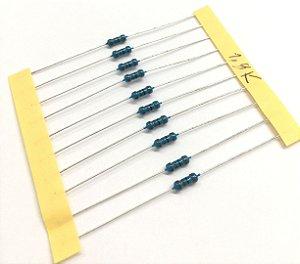 Resistor 1/4W 1% - 1,8K - 10 UNIDADES