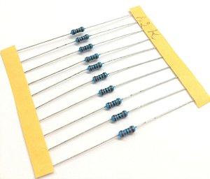 Resistor 1/4W 1% - 1,2K - 10 UNIDADES