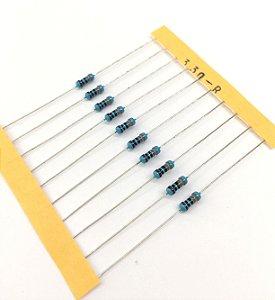 Resistor 1/4W 1% - 330R - 10 UNIDADES