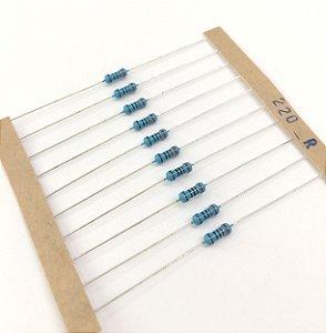 Resistor 1/4W 1% - 220R - 10 UNIDADES