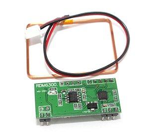 Leitor RFID RDM6300 125Khz Com Antena