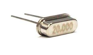 Cristal Oscilador HC49S 20 Mhz
