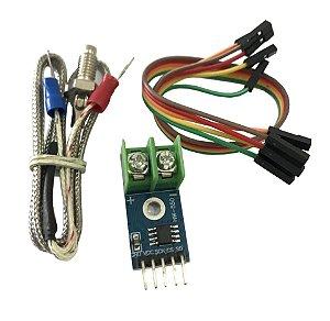 Módulo Leitor Temperatura Max6675 Com Termopar Tipo K