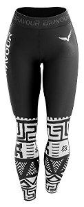 Calça de Compressão - Maori - Preta