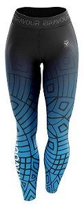 Calça de Compressão - Maori - Azul
