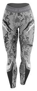 Calça de Compressão - Bravour Classic Army - Cinza