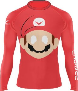 Rashguard - Super Mario