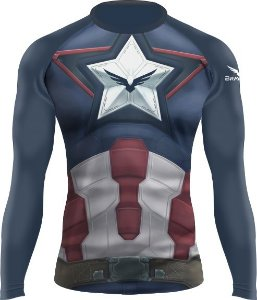 Rashguard - Capitão América