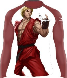 Rashguard - Street Fighter Ken