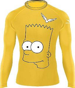 Rashguard - Bart Simpson