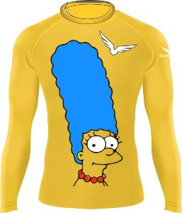 Rashguard - Marge Simpson