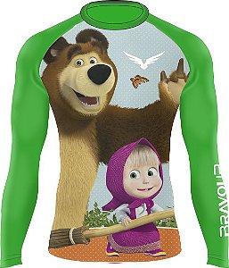 Rashguard - Kids - Masha e o Urso