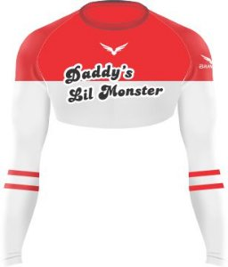 Cropped - Daddy's Lil Monster