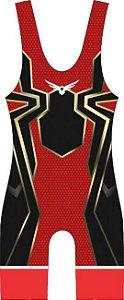 Malha Wrestling - Homem Aranha (barra azul ou vermelha)
