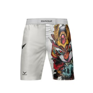 Bermuda NOGI - Tiger Samurai - Branca