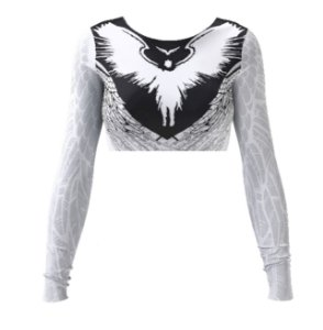 Cropped - Wings - Branca