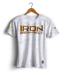 Camiseta Copa Podio - Iron Brown Belt - Branca