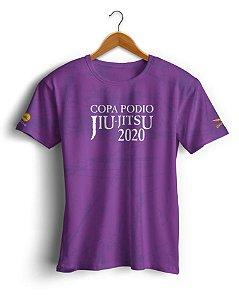 Camiseta Copa Podio 2020 - Roxa