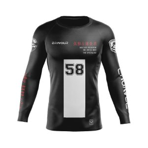 Rashguard - Secret - Preto (Exclusivo)