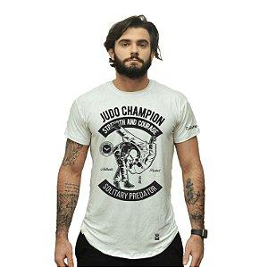 Camiseta - Judo champion - Branca