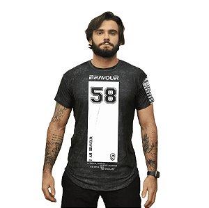 Camiseta - 58- Preta