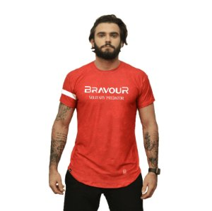 Camiseta - Bravour - Vermelha