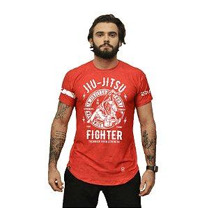 Camiseta - jiu-jitsu - Vermelha