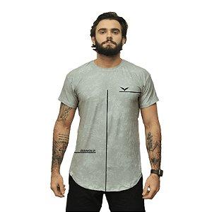 Camiseta - history - cinza