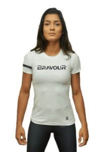 Camiseta - bravour - Branca
