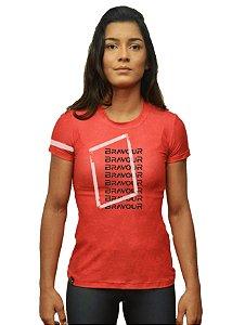 Camiseta - Solitary - vermelha