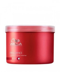 Wella Professionals Máscara Brilliance  Finos   500G