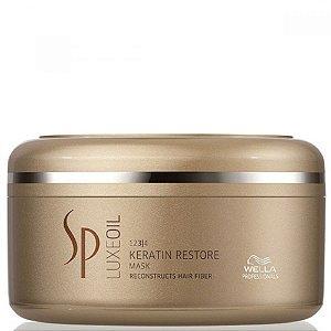 SP System Professional Luxe Oil Keratin Restore Mask - Máscara de Tratamento 150ml