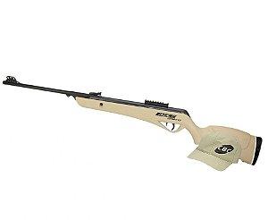 Carabina de Pressão CBC Jade Pro Nitro Oxidada Desert 5,5mm
