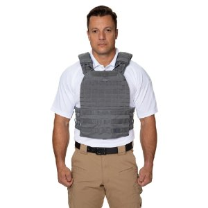 COLETE TACTEC PLATE CARRIER CINZA 5.11