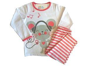 Pijama Comprido Ratinha