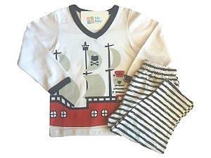 Pijama Comprido Navio