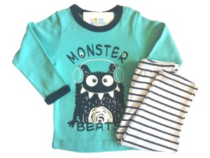 Pijama Comprido Monster Beats