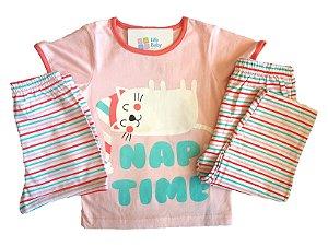Pijama Cat Nap - Kit 3 peças
