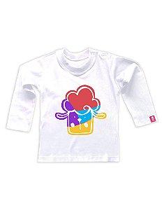 Camiseta Manga Longa Baby Beh