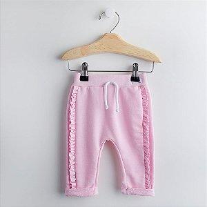 Conjunto Body e Calça Rosa - Tamanho P