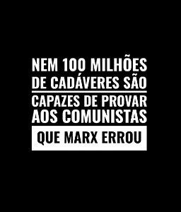 Nem 100 milhões de cadáveres - Nego Pensa - Feminina