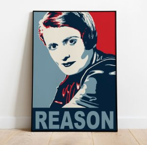 Pôster Ayn Rand - Reason