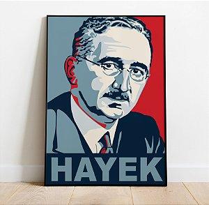 Pôster Friedrich Hayek