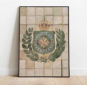 Pôster Azulejo Brasil Imperial