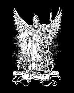Liberty - Born Free. Die Free. - Masculina