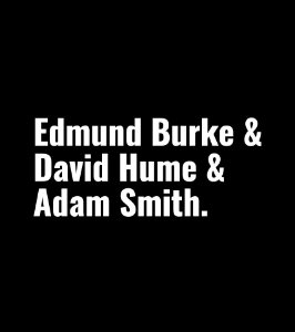 Edmund Burke, David Hume e Adam Smith - Feminina