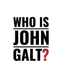 Who is John Galt? - Masculina
