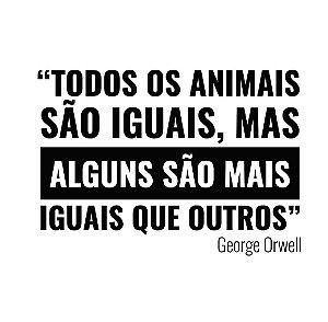 Todos os animais são iguais - Masculina